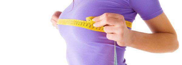 как измерить размер груди