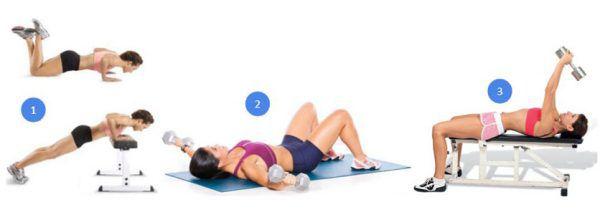 подтяжка груди упражнениями