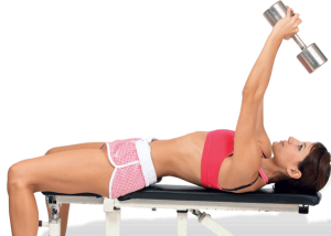 упражнения для упругости груди в зале