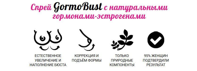 Как работает гормобюст